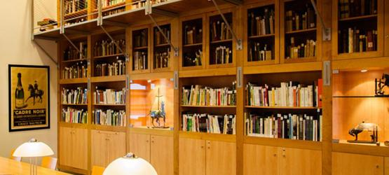 French National riding School's Library