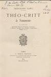 Théo-Critt à Saumur