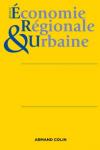 REVUE D'ECONOMIE REGIONALE ET URBAINE