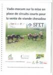 Vade-mecum sur la mise en place de circuits courts pour la vente de viande chevaline