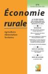ECONOMIE RURALE, 374 - Octobre-Décembre 2020 - La filière équine, une filière agricole qui se diversifie pour résister à la crise
