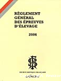 Règlement général des épreuves d'élevage 2002