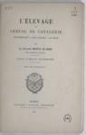 L'élevage du cheval de Cavalerie