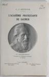 L'Académie protestante de Saumur