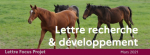 - Mars 2021 - Etude économique sur la filière élevage sport