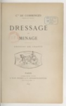 Dressage et menage