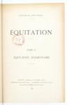 Equitation - Tome II : Equitation savante