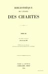 Bibliothèque de l'École des chartes, t. 165, n° 2 - 2007