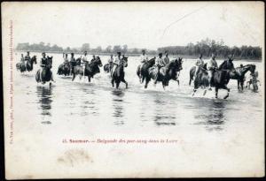 n° 4 - Les photographies anciennes du Cadre noir et de l'École de cavalerie de Saumur