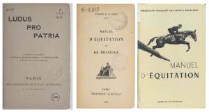 n° 13 - L'équitation de tradition française perpétuée au Cadre noir, la rencontre d'une équitation civile et militaire
