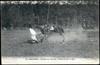 Saumur - Courses de Varrains - Chute au talus anglais