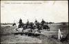 Saumur - Ecole de Cavalerie - Saut par cinq de la barre au Breil