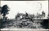 Saumur (M.-et-L.) - Ecole d'Application de Cavalerie. - Saut du Fossé au Breil.