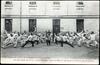 Saumur (M.-et-L.) - Salle d'armes - Salut d'adieu à l'Ecole de Cavalerie (fin de cours)