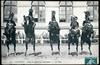 Saumur. - Ecole de Cavalerie, Courbettes